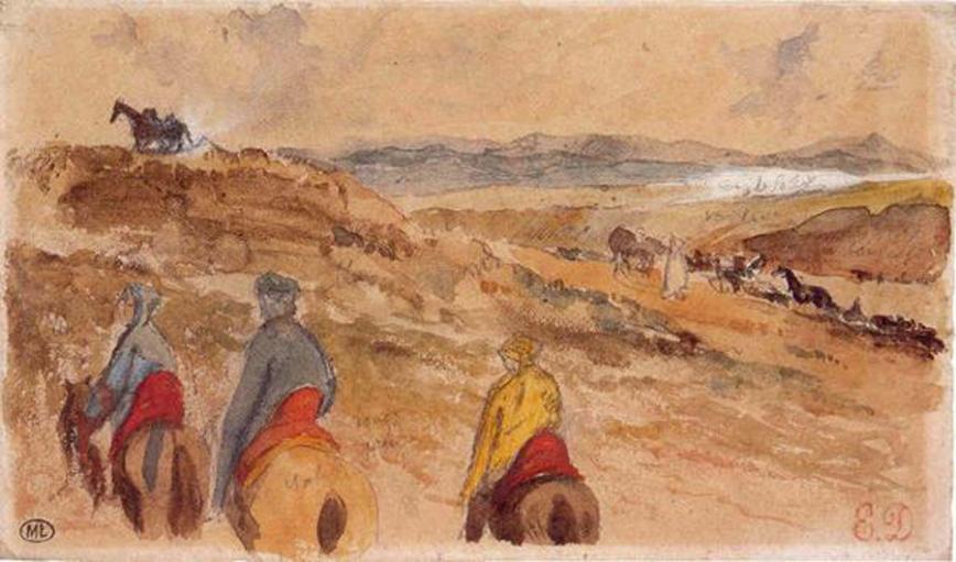 Eugène Delacroix - viaggio in Marocco